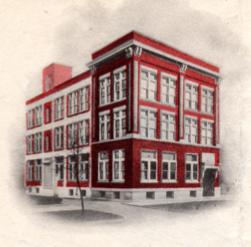 Zaner-Bloser Company building in Cincinnati